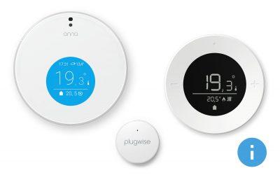 HIGHLIGHTS: Anna, Lisa and Jip thermostat / temperature sensor